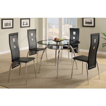 Alda Round Table With Four Chairs