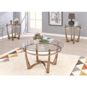 Alessio Round Coffee Table