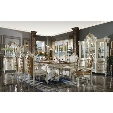 Alexandra Traditional Formal Dining Table Set