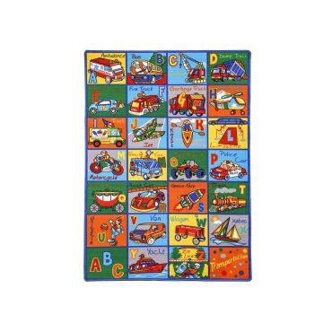 Alphabet Kids Room Rug