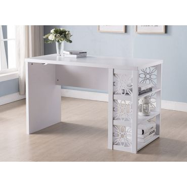Altha Desk With Floral Design