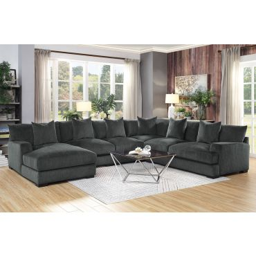 Alzire U-Shape Oversized Sectional Sofa