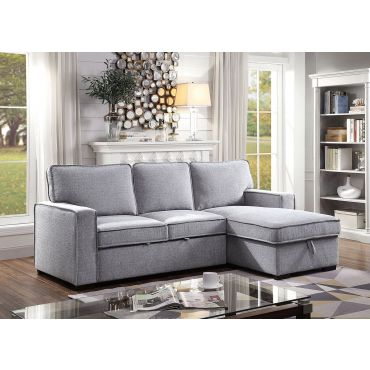 Amir Storage Sectional With Sleeper