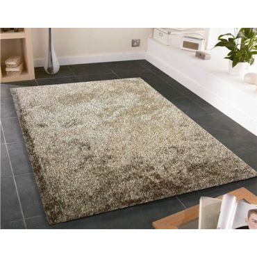 Amore Brown Shag Area Rug