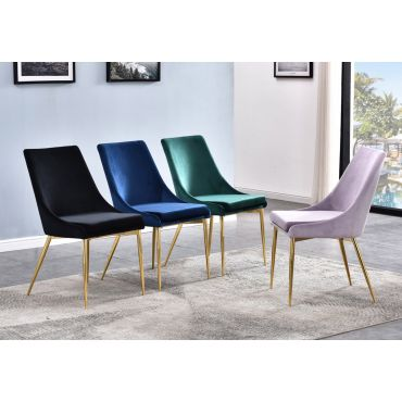 Andes Velvet Dining Chairs