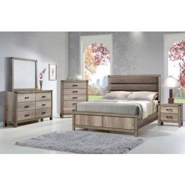 Andreas Industrial Style Bedroom Collection