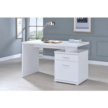 Asonia Contemporary Home Office Desk