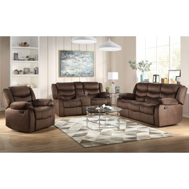 Atlantic Fabric Dual Recliner Sofa