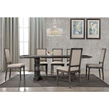 Avondale Rustic Grey Dining Room Set