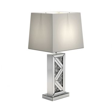 Axes Table Lamp Mirrored Frame