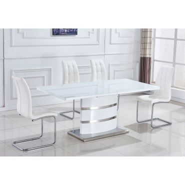 Bacarda Modern Dining Table With Extension