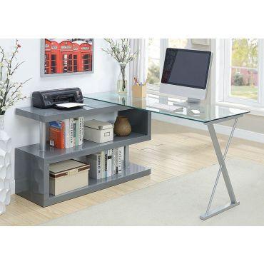 Baden Modern Swivel Desk