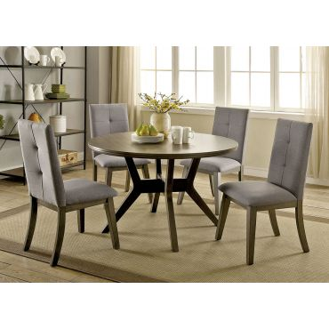 Bardolf Rustic Grey Round Table Set