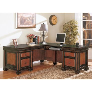 Barstow Home Office Corner Desk