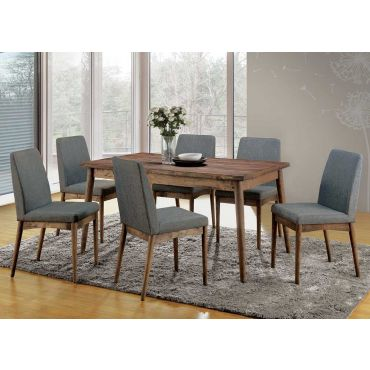 Bartel Natural Tone Dining Table Set