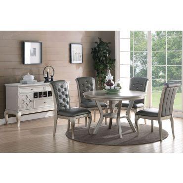 Barzini Round Dining Table Set