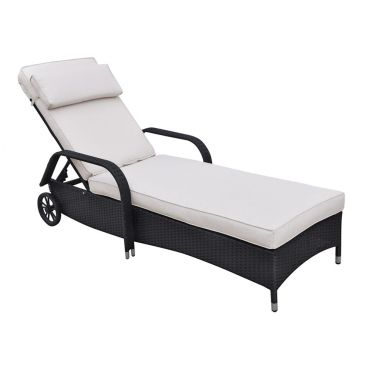 Beacher Outdoor Patio Lounge Chaise