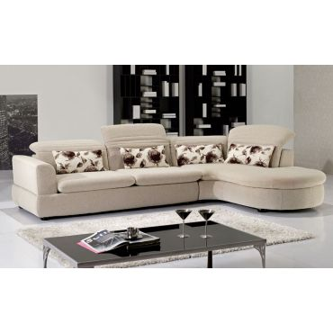 Orlando Modern Fabric Sectional,Orlando Sectional Adjustable Headrests,Orlando Sectional Chaise Details
