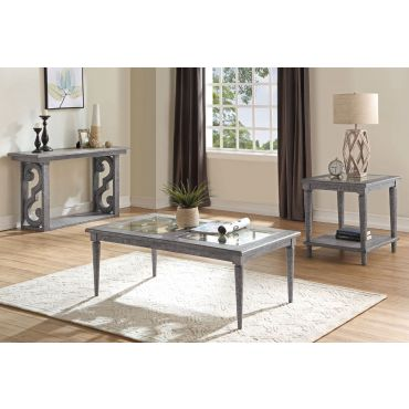 Belham Transitional Style Coffee Table
