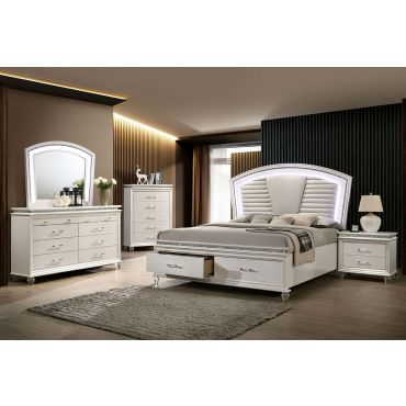 Bellagio LED Bed With Drawers