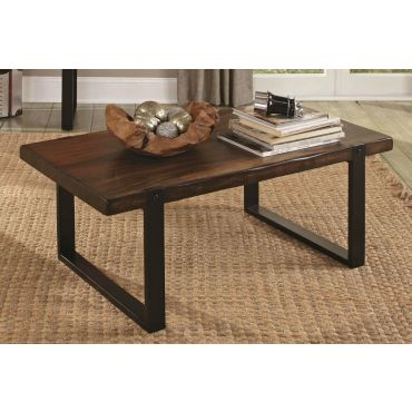 Bellamy Industrial Style Coffee Table