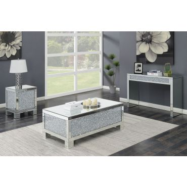 Benett Mirrored Coffee Table,Benett Mirrored Sofa Table,Benett Mirrored End Table