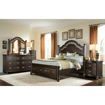Benicia Traditional Style Bedroom Furniture