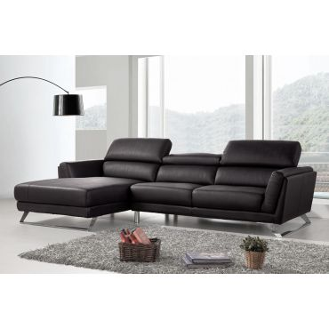 Beren Leather L Shape Couch