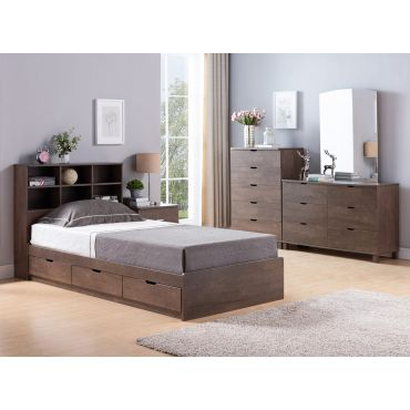 Bernal Bed With Drawers