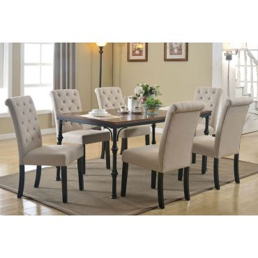 Beval Classic Style Dining Table Set
