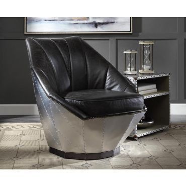 Billy Aluminum Frame Accent Chair