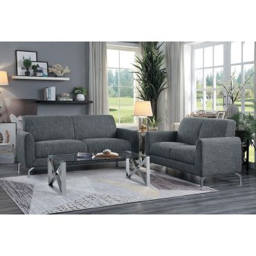 Bine Modern Gray Fabric Sofa