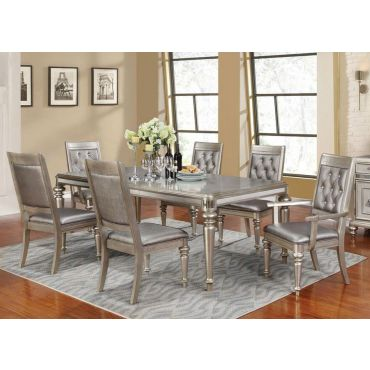 Blyss Platinum Dining Room Set