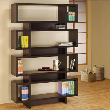 Jelissa Contemporary Style Bookcase