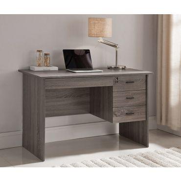 Bora Rustic Grey Home Office Desk