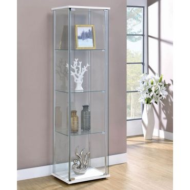 Bowery Modern Glass Curio