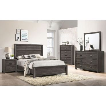 Brava Rustic Finish Bedroom Furniture