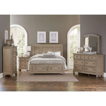 Brazoria Bed With Storage Drawers