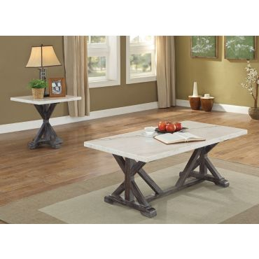 Brea Marble Top Coffee Table