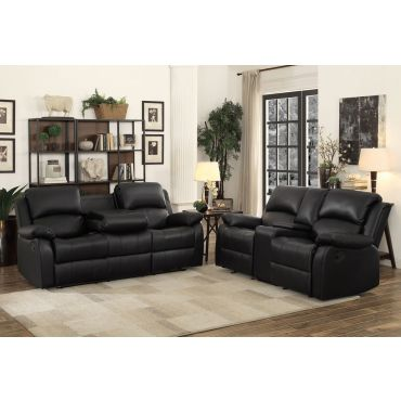 Brian Recliner Sofa With Drop Down Table