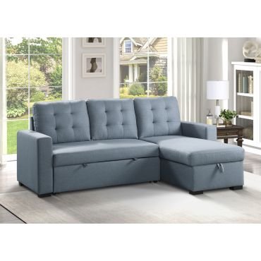 Britton Reversible Sectional With Sleeper