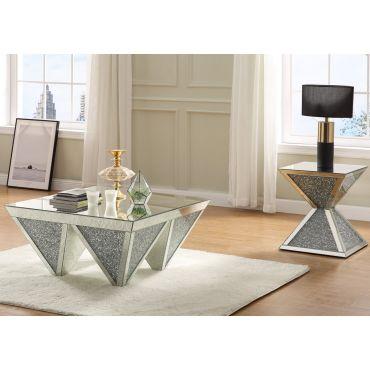 Bronx Mirrored Coffee Table
