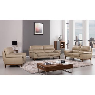 Brookville Italian Leather Sofa Collection