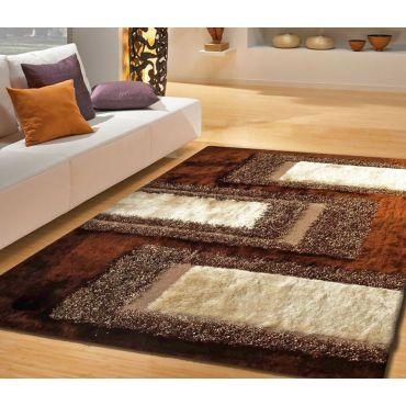 Brown Shag Area Rug Design 35