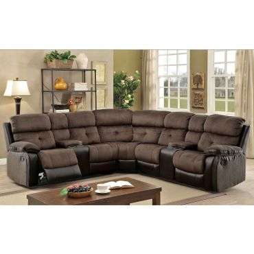 Bunnell Two Tone Recliner Sectional
