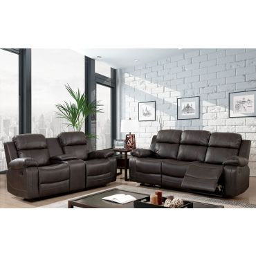 Cade Recliner Sofa With Drop Down Table