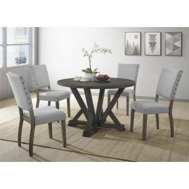 Callisto Round Top Dining Table Set