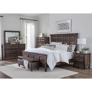 Cambridge Rustic Finish Bedroom Furniture