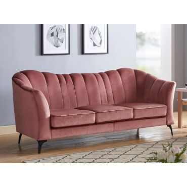 Cameley Vintage Rose Velvet Sofa