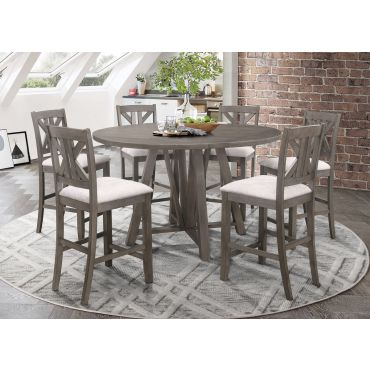 Camelot Square To Round Pub Table Set